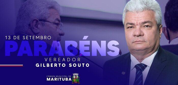 13/09 – Aniversário do Vereador Gilberto Souto
