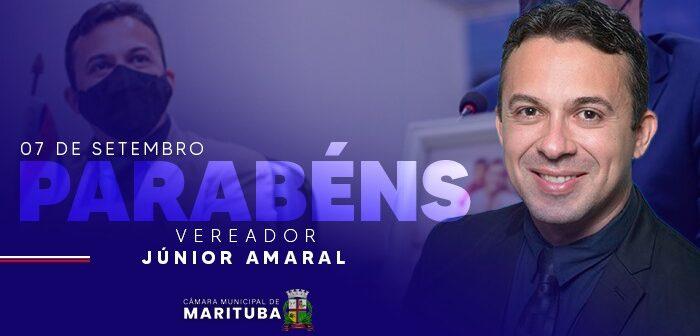 07/09 – Aniversário do Vereador Júnior Amaral